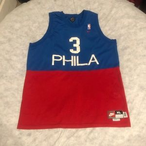 Allen Iverson Philadelphia 76ers Nike 1966 Retro